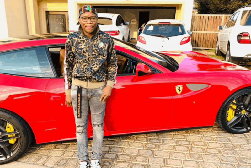 Jerusalema's Master KG Acquires New Red Ferrari