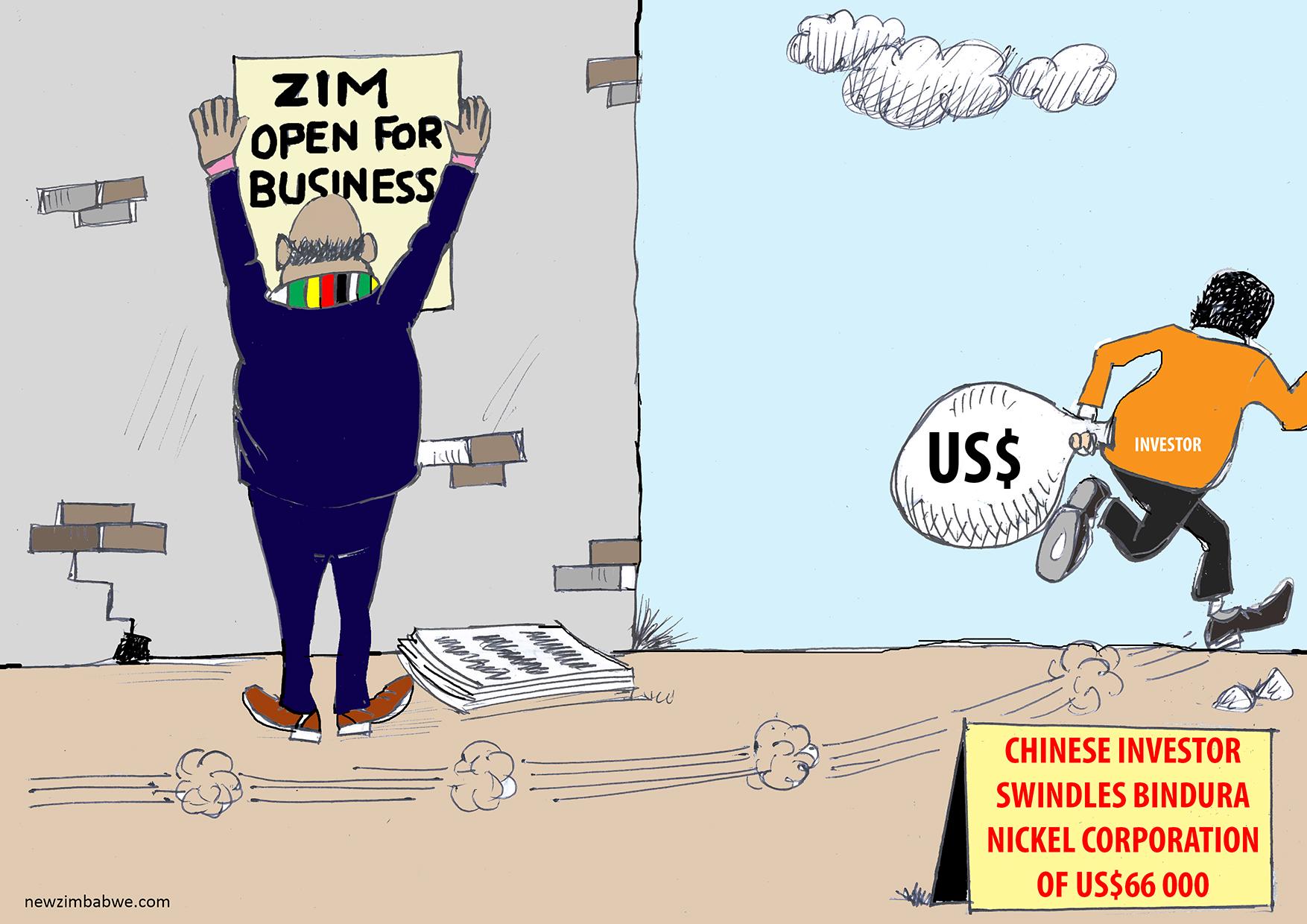 Chinese investor swindles BNC