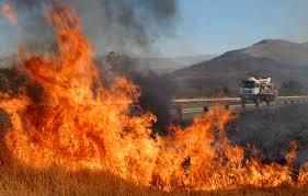 EMA cautions against starting fires outside buildings
