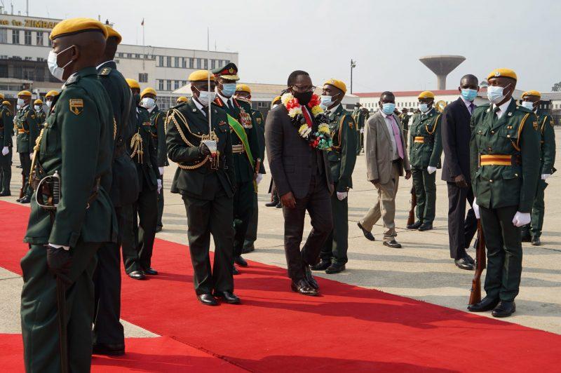 IN PICTURES: Malawi President Chakwera Visit To Zimbabwe