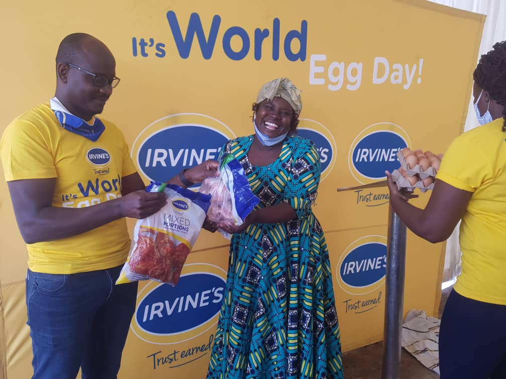 Irvine's says poor Zimbabweans affording single egg per year