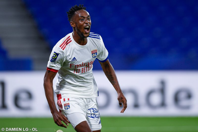 Kadewere Voted Newcomer Of The Year At Olympique Lyon