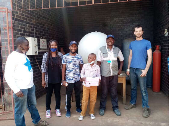 Zim Students Launch First High Altitude Balloon Discover Mission