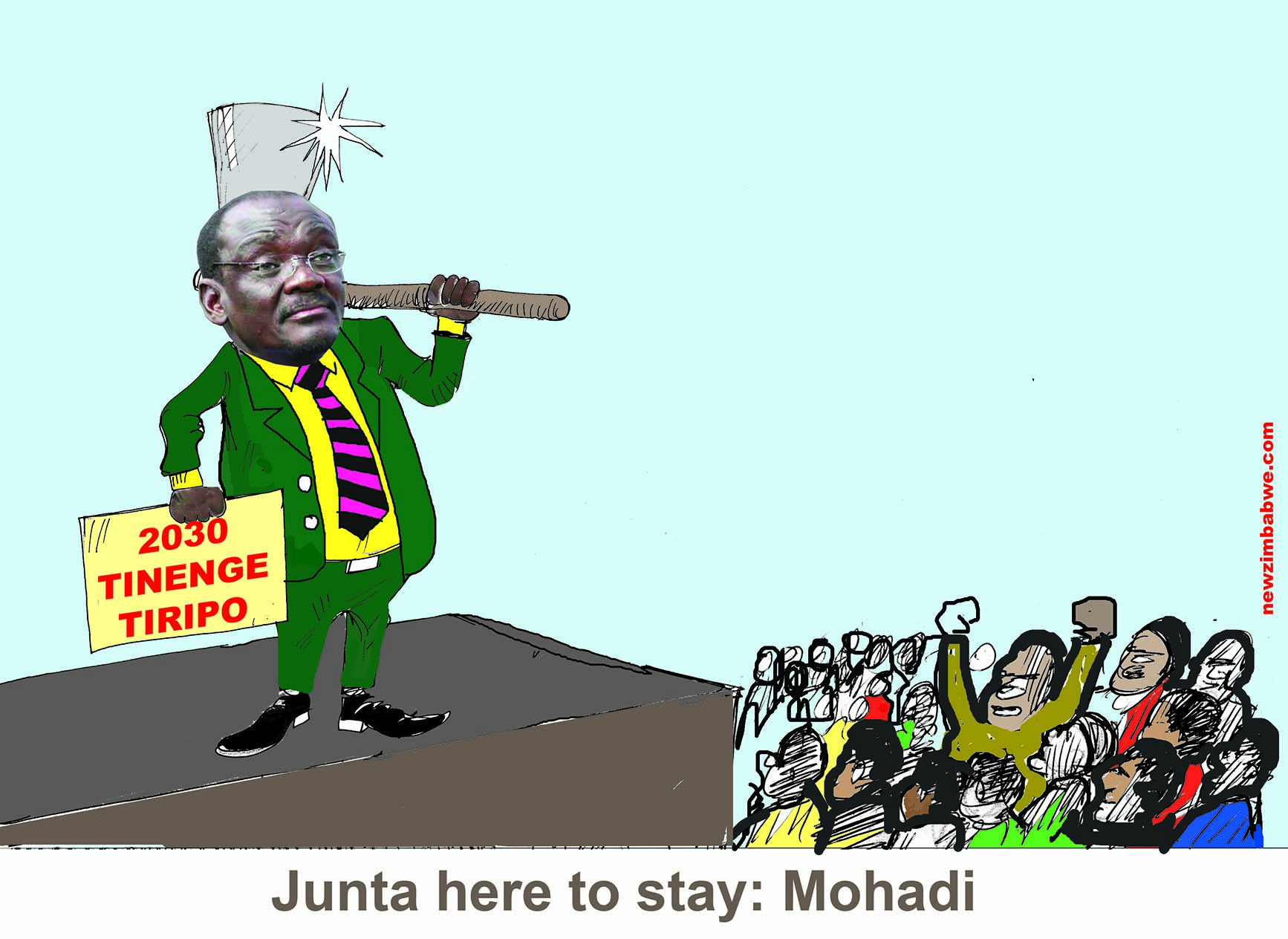 Junta here to stay