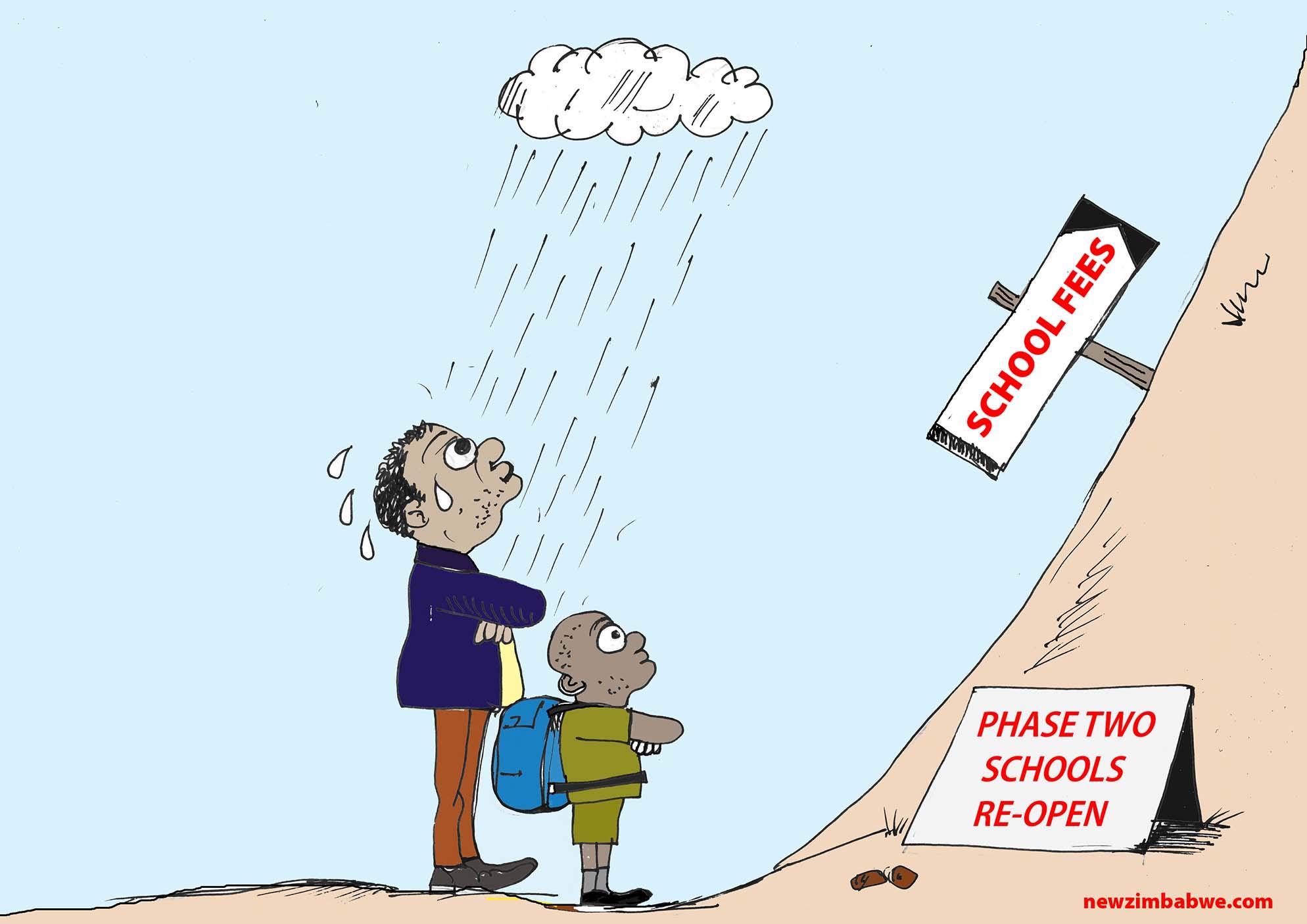 Schools reopen but…