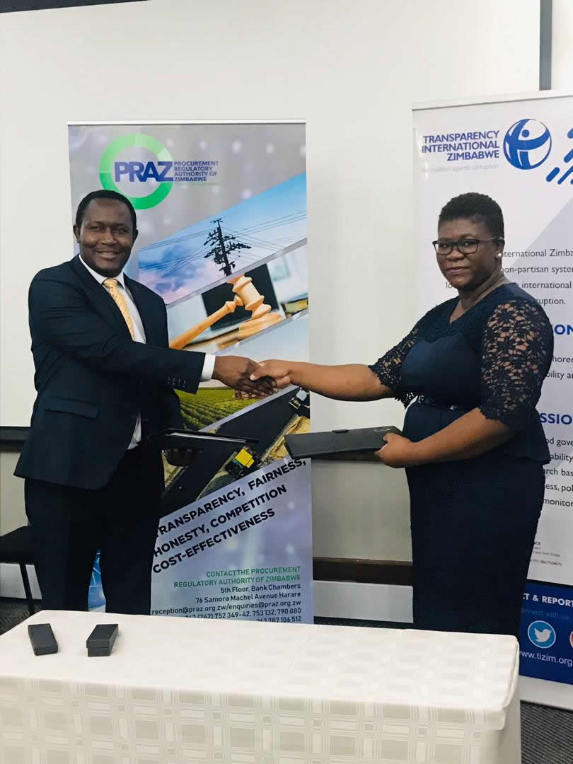 PRAZ, TIZ partner to strengthen Zim procurement systems