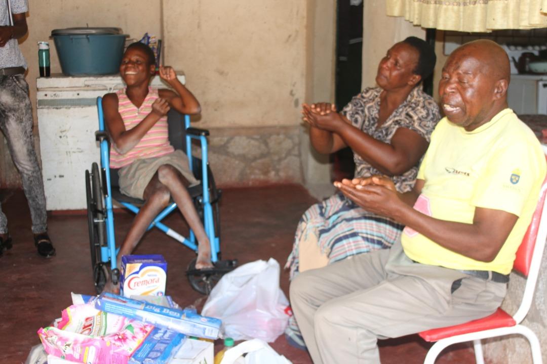 Impala Car Rental in kind wheel chair donation to Domboshava woman
