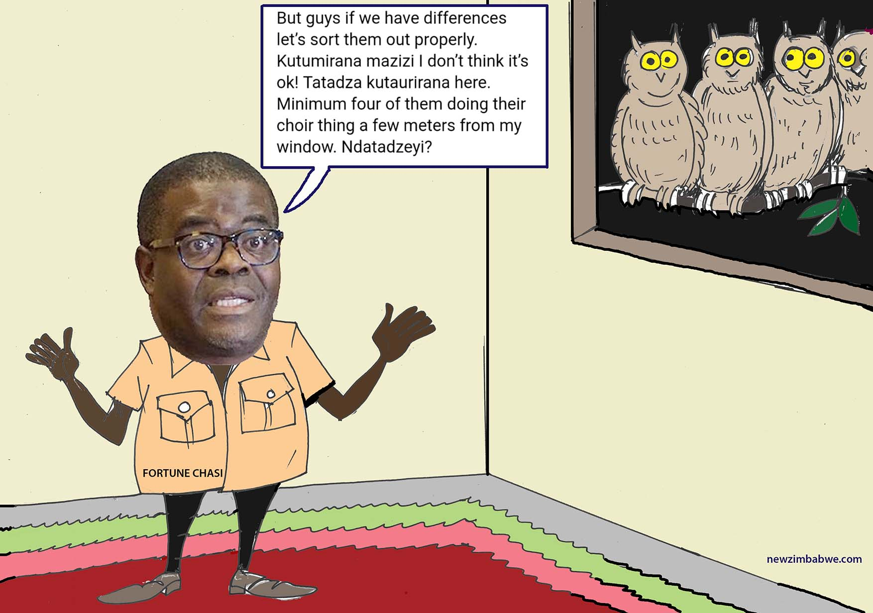 Of Chasi and owls