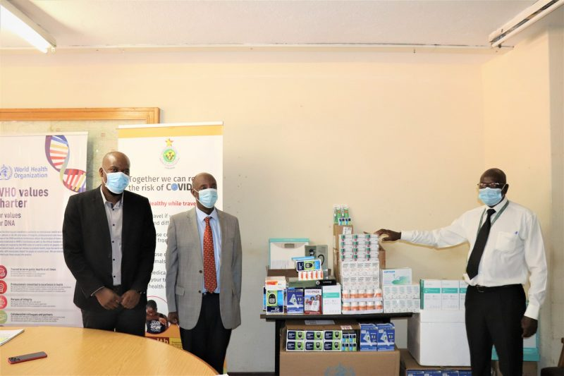 WHO Donates US$60k Supplies For Non-Communicable Diseases