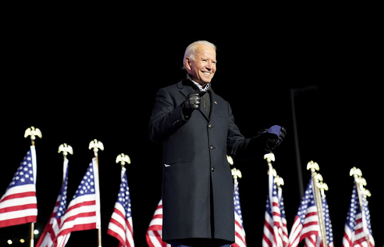 Joe Biden says 'time to turn the page' after victory confirmed