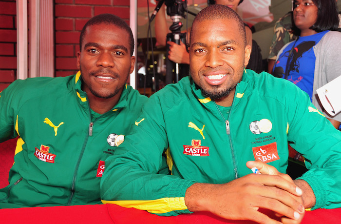 Khune revisits friendship, rivalry with Senzo Meyiwa