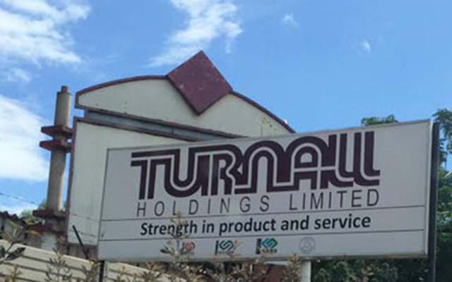 Turnall sales volumes up 11 %