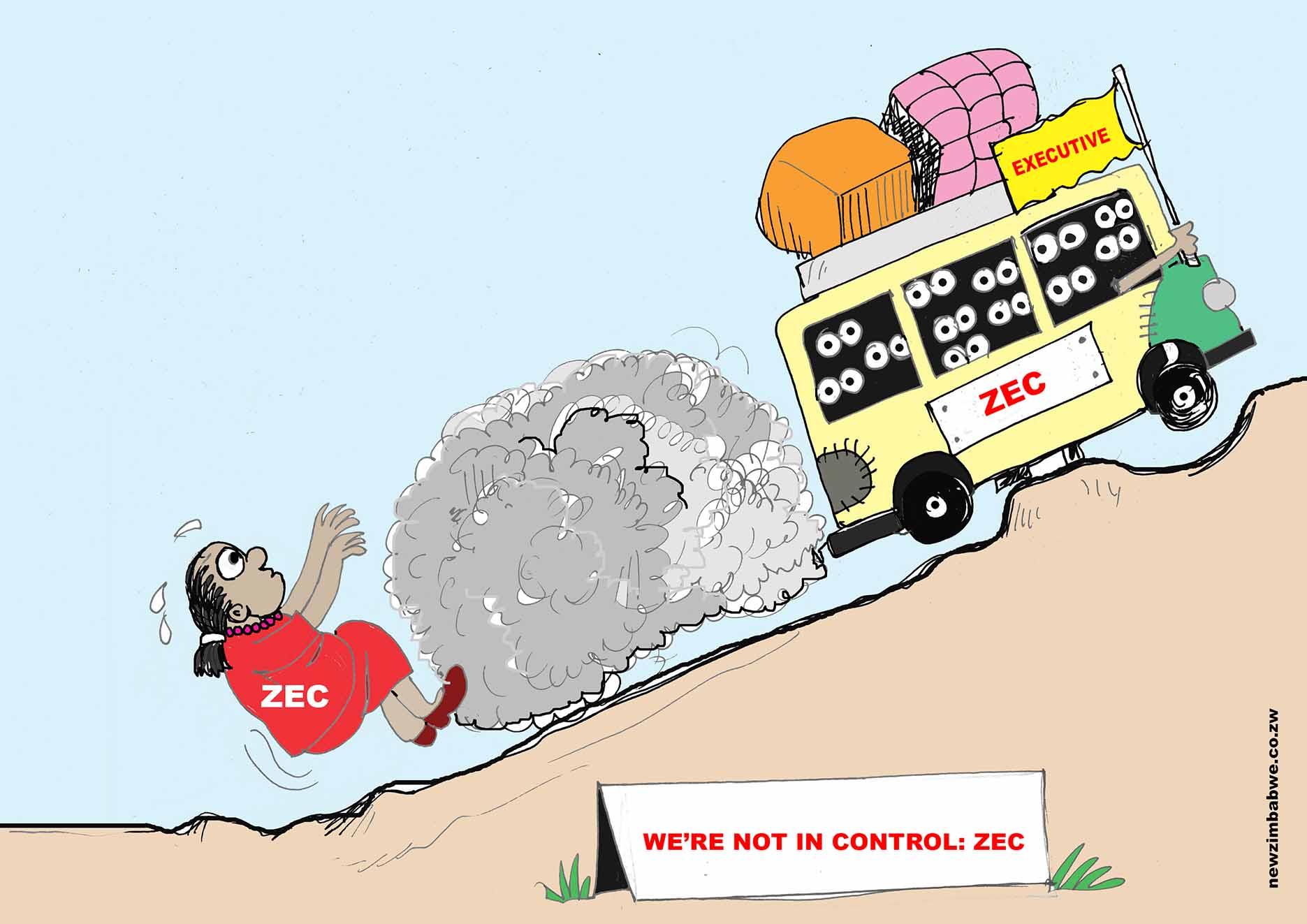 ZEC is not in control