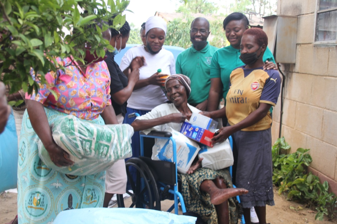 Impala brings smile to 80-year-old disabled woman