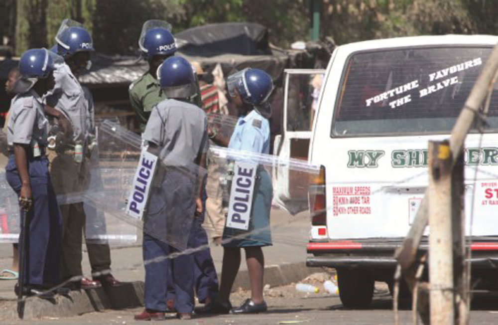 Cop Battling For Life After Being Run Over By Kombi