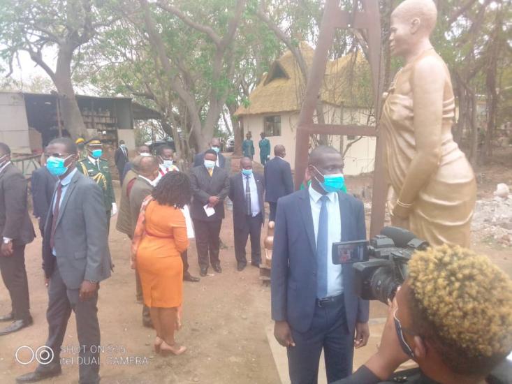 Mnangagwa Rejects Mbuya Nehanda Statue, Work To Be Redone