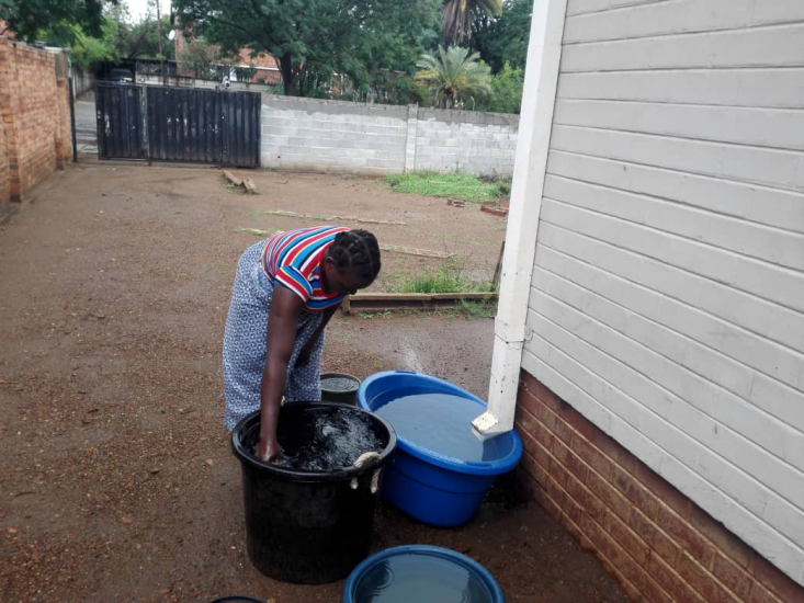 Rains Bring Relief As Residents Resort To Water Harvesting