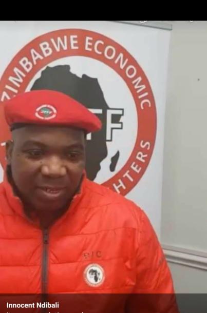 Ndibali Bounces Back As EFF Zimbabwe President