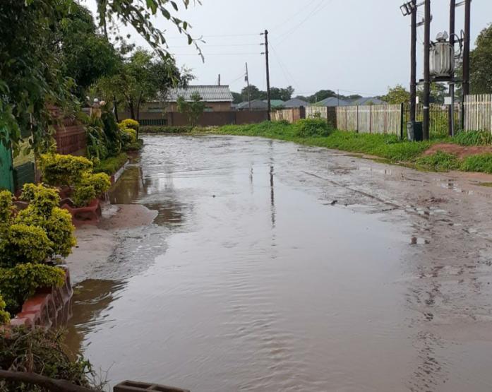 Rare Flash Floods Hit Vic Falls