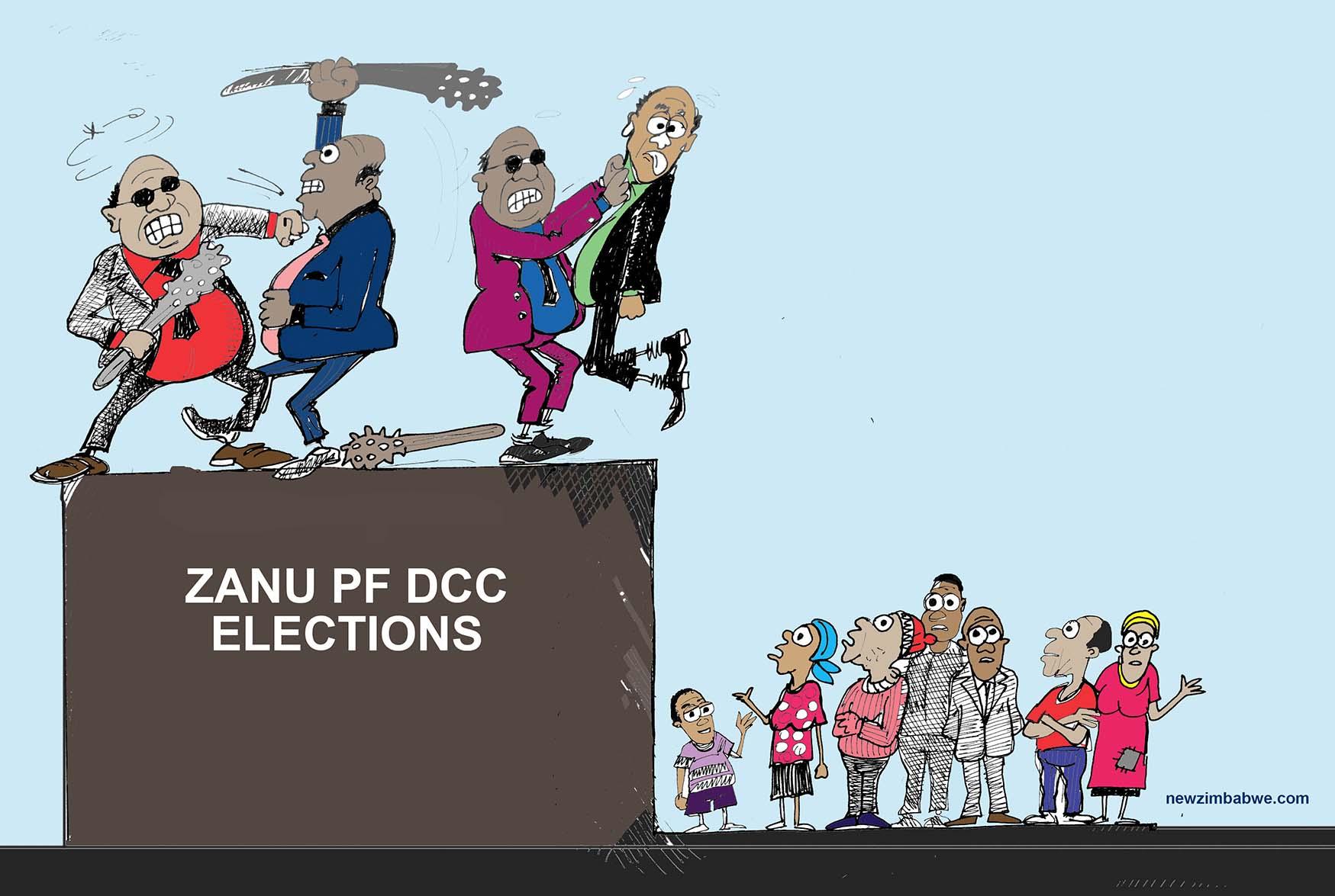 Violence mars ZANU PF DCC elections