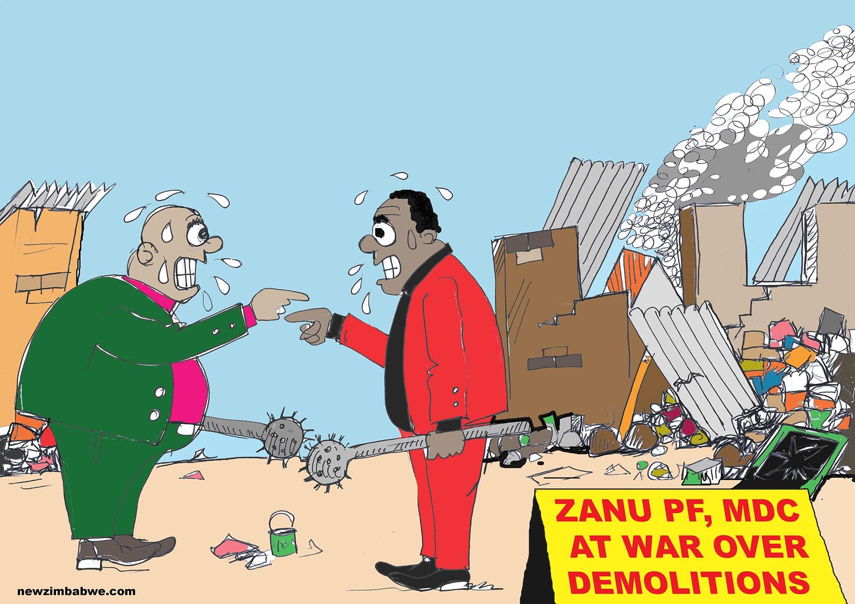 Zanu PF and MDC at war