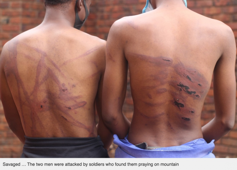 Two Men Severely Tortured By Soldiers While Praying On Mountain