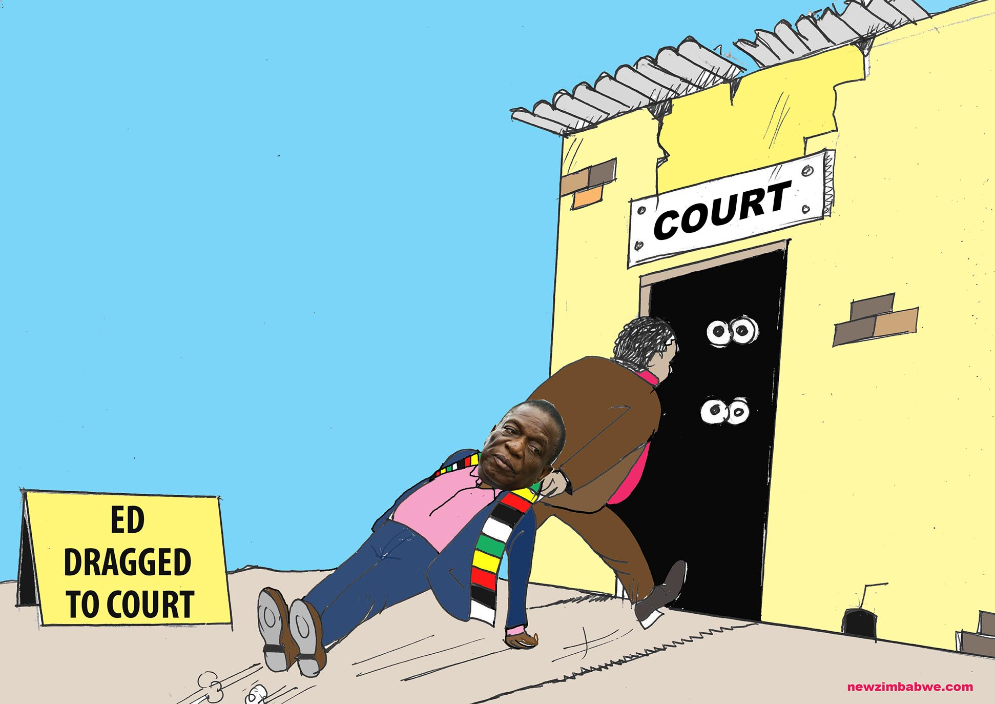 ED dragged to court