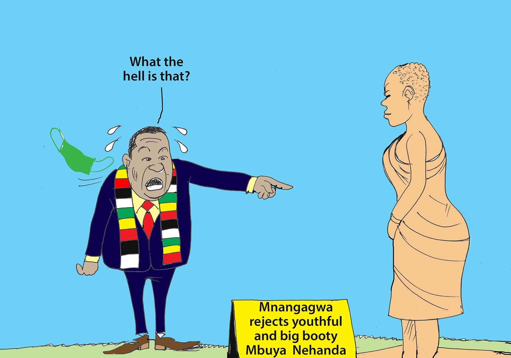 Of Mnangagwa and Mbuya Nehanda statue