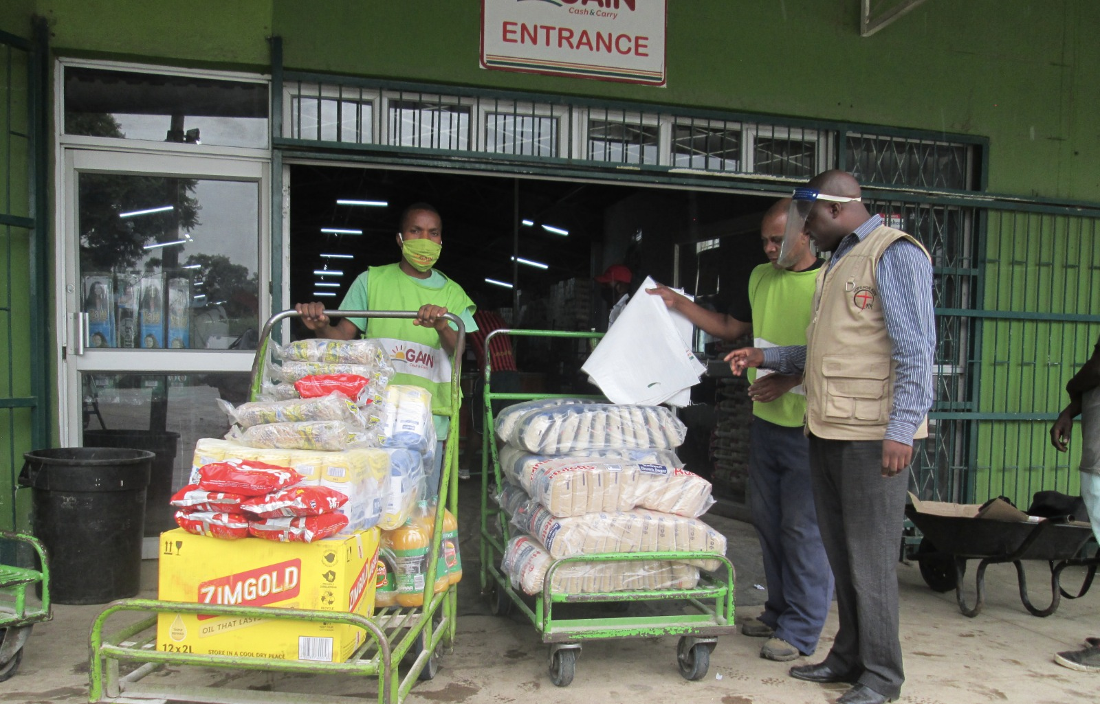 Chipinge Orphanage Receives Festive Goodies From Diaspora Insurance