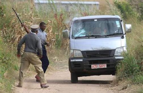 Dad, Son Arrested For Mounting Illegal Bush Police Roadblock