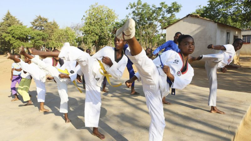 Zim Girl Uses Martial Arts To Warn Against Child Marriage