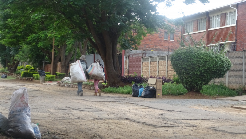 Hunters Flood Bulawayo Suburbs In Search Of Recycling Waste