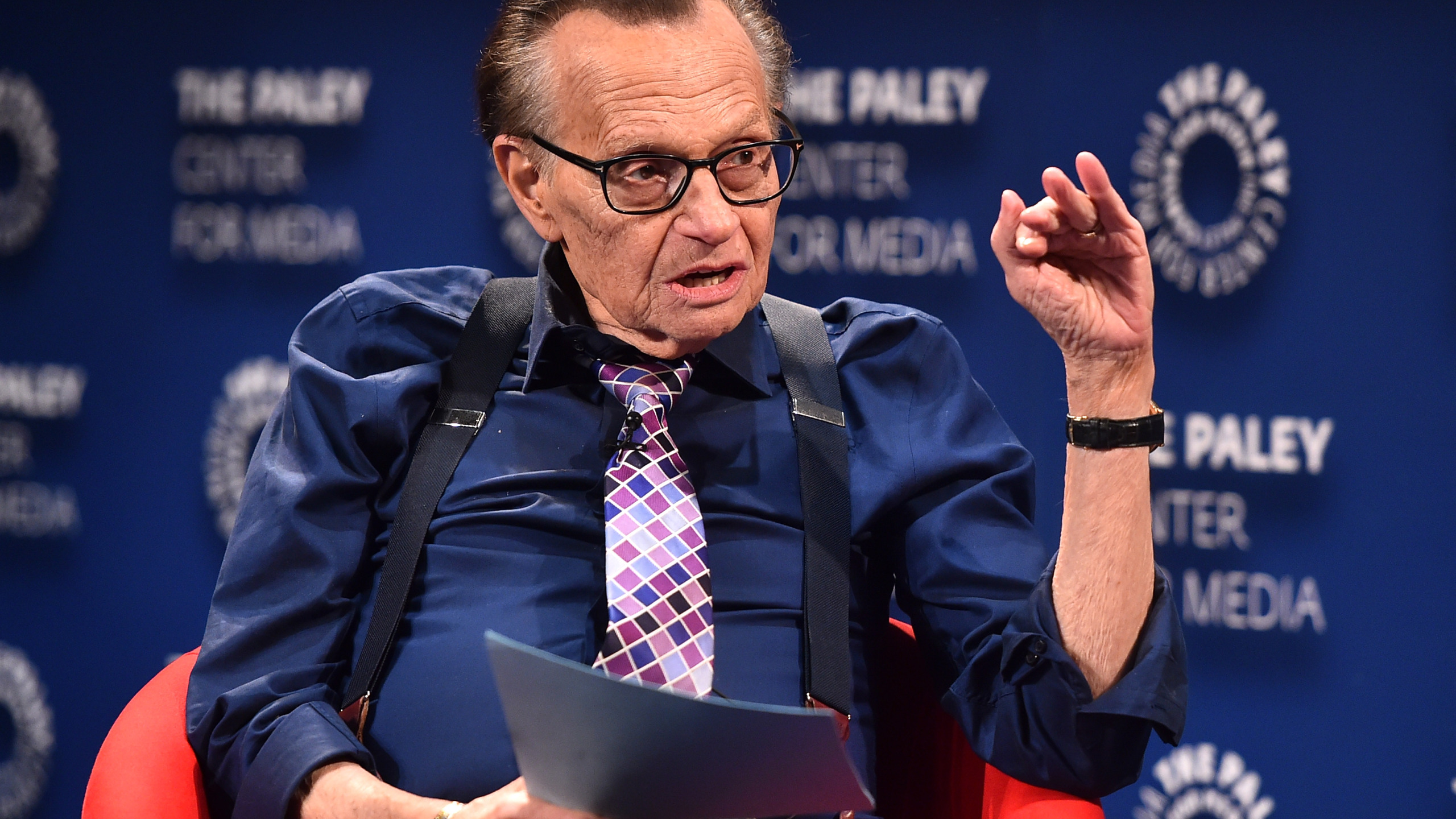 Larry King: Veteran US Talk Show Host Dies Aged 87