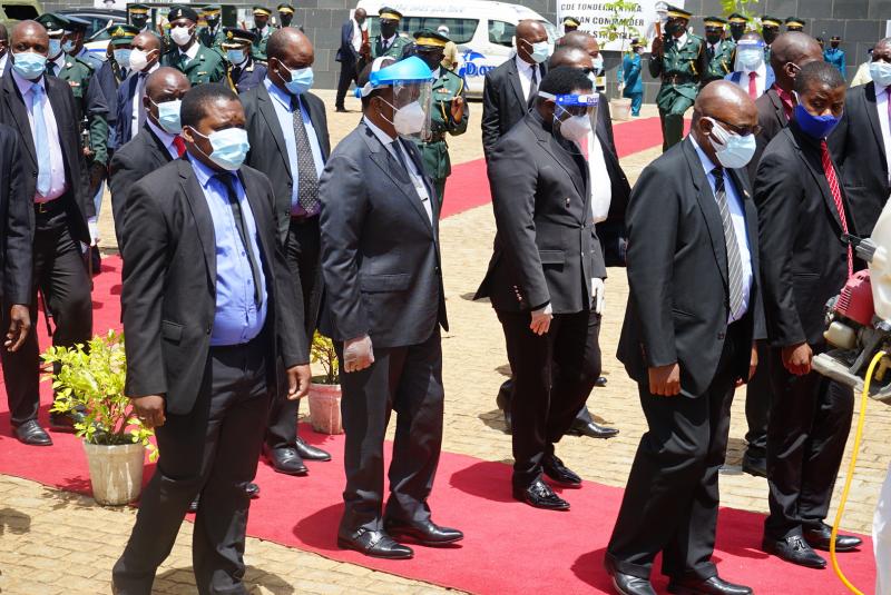IN PICTURES: Burial Of National Heroes, SB Moyo, JB Matiza, Paradzai Zimondi