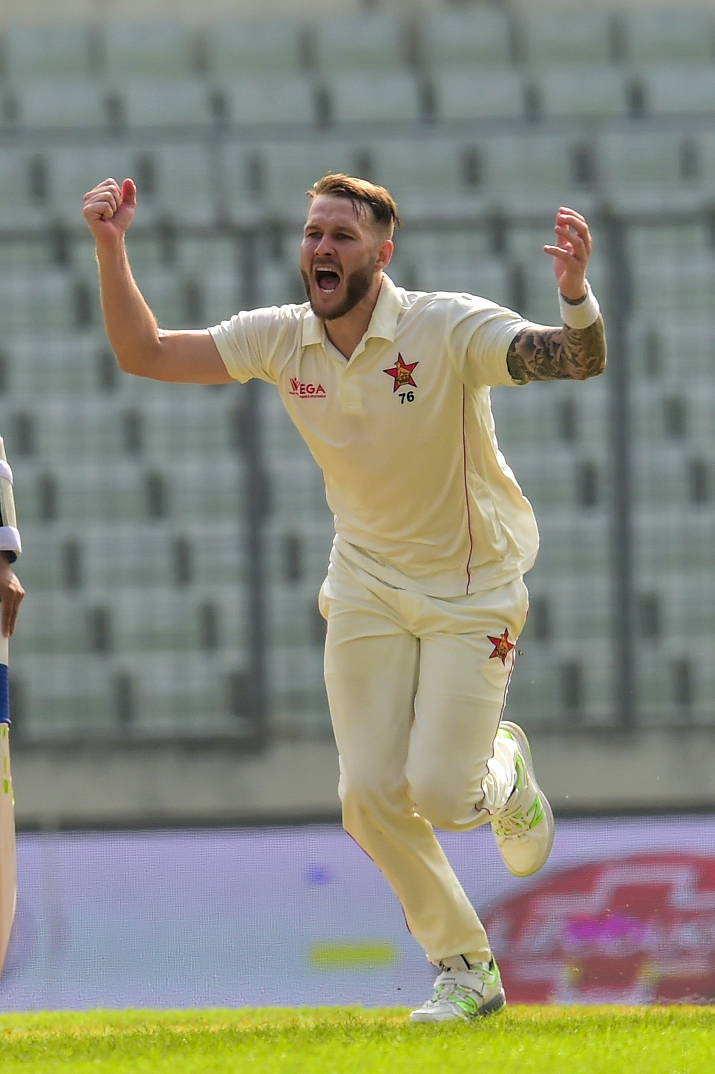 Chevrons Bowler Jarvis Ruled Out Of Afghanistan Series
