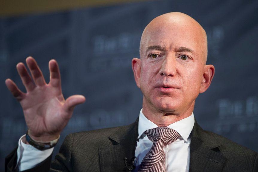 World's Richest Man Jeff Bezos Steps Down As Amazon Boss