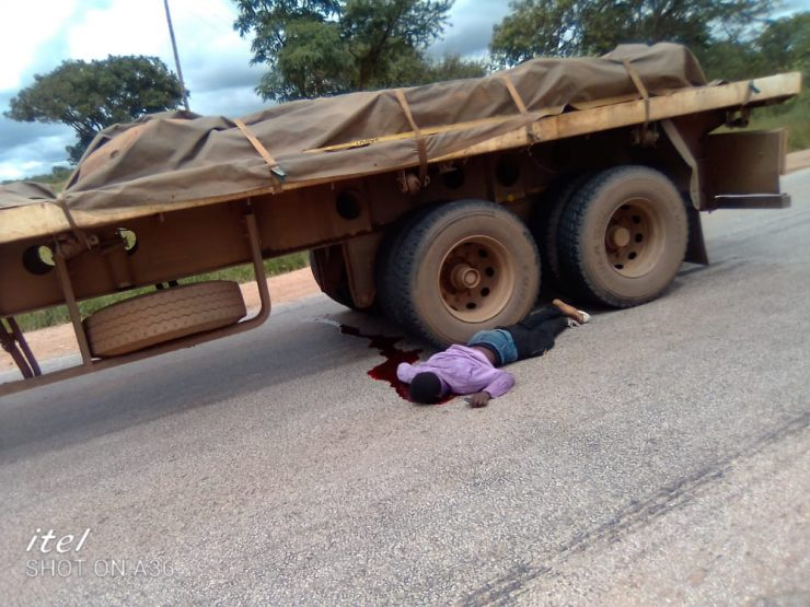 Man Dives Into Moving Truck, TV Sales Employee Hangs Over Debts
