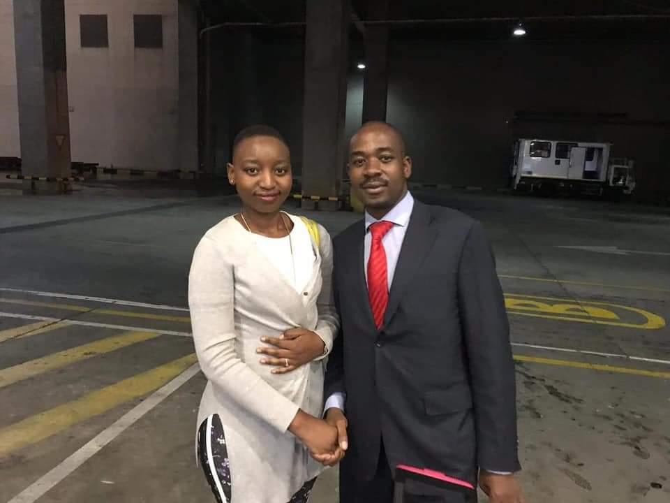 Chamisa, Mliswa Ex Image Sets Social Media Buzzing