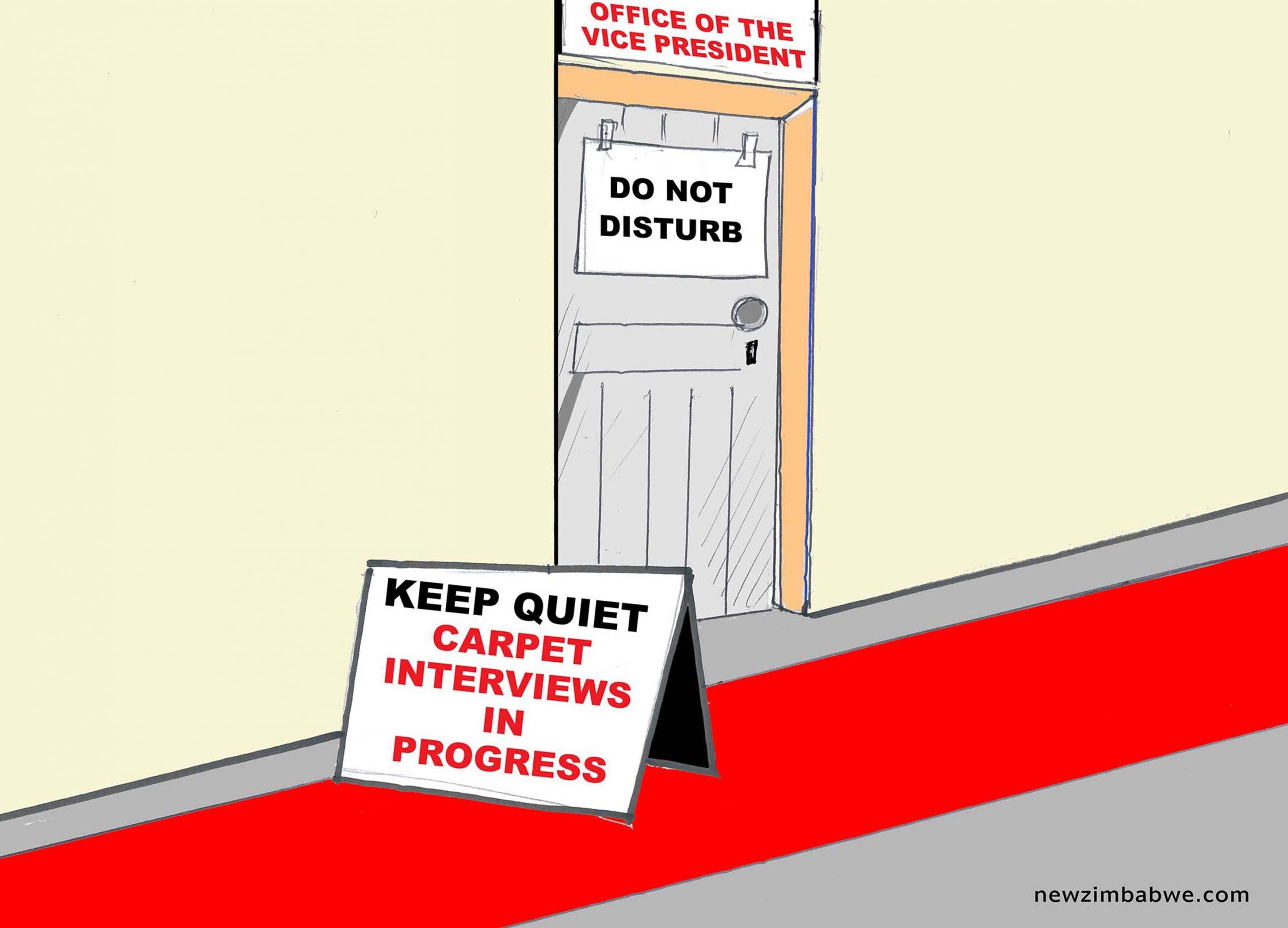 Do not disturb the VP