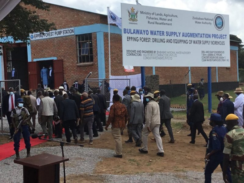 Govt Allocates $535m For Ambitious Gwayi-Shangani Water Pipeline