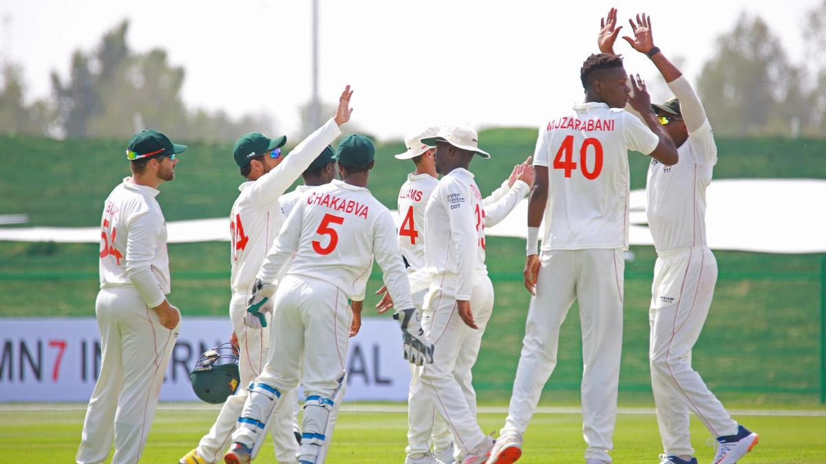 Zimbabwe Edge Ahead Against Afghanistan