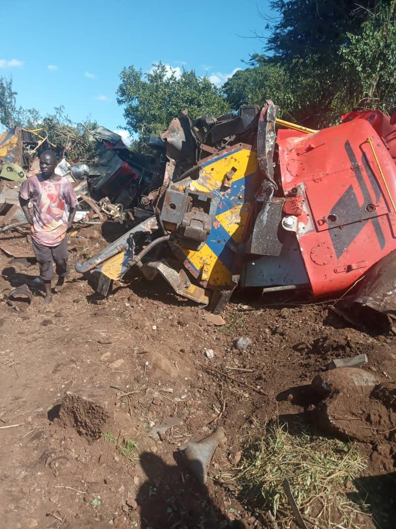 Driver Killed, 3 Crew Members Injured As Train Derails