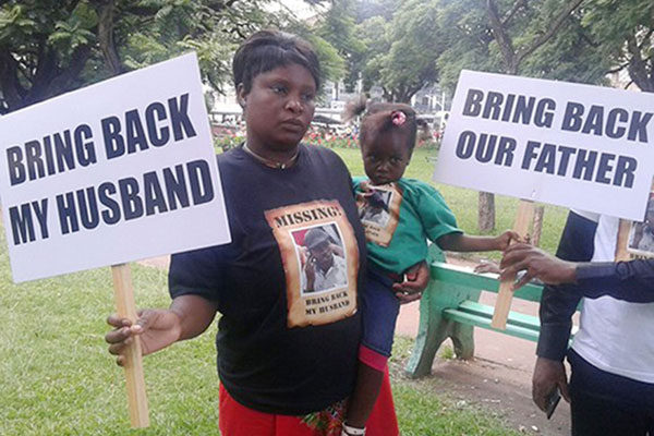 'I Want Answers' – Missing Itai Dzamara's Wife