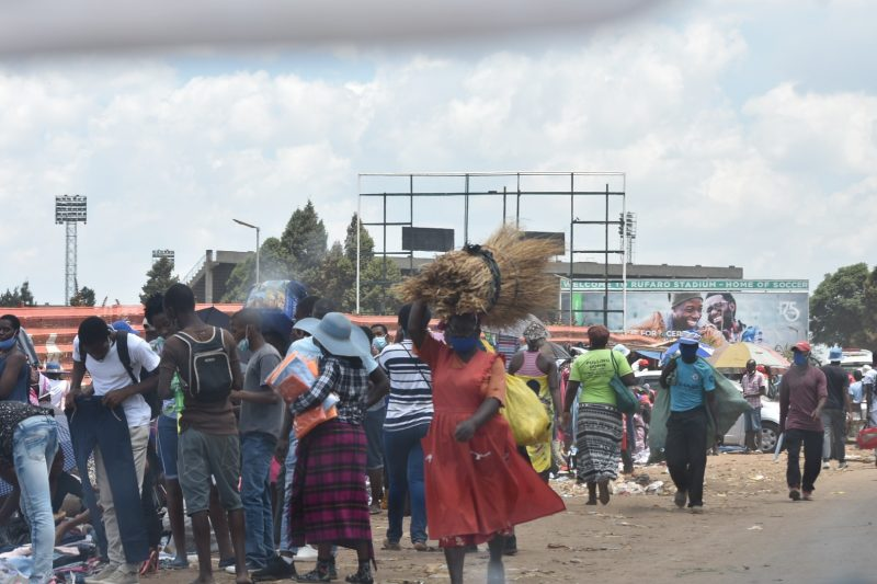 Take A Look: Mupedzanhamo Remains Closed, Traders, Buyers Stranded