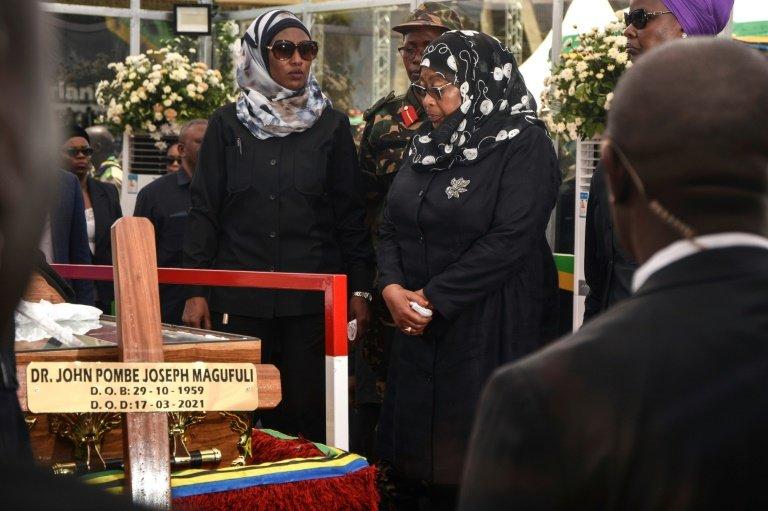 Funeral Rites Begin For Late Tanzanian Leader John Magufuli