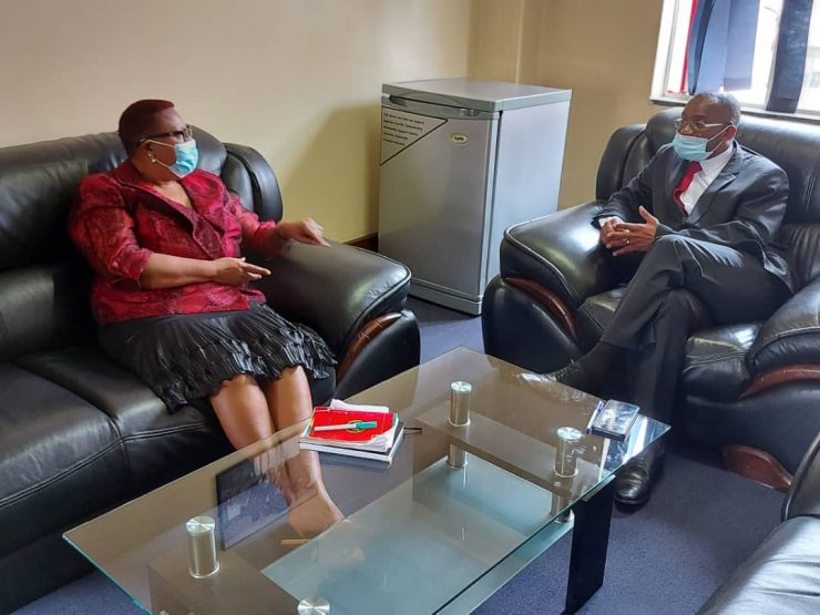 Khupe Gives Up, Accepts Mwonzora As MDC-T President