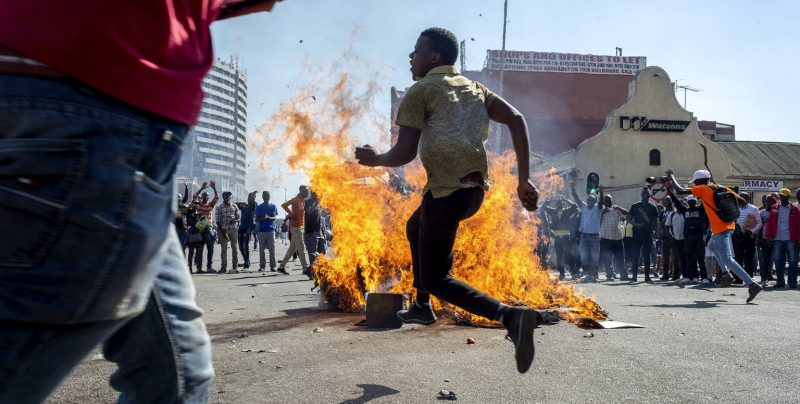 Fight Or Surrender: The Plight Of The Young InZimbabwe