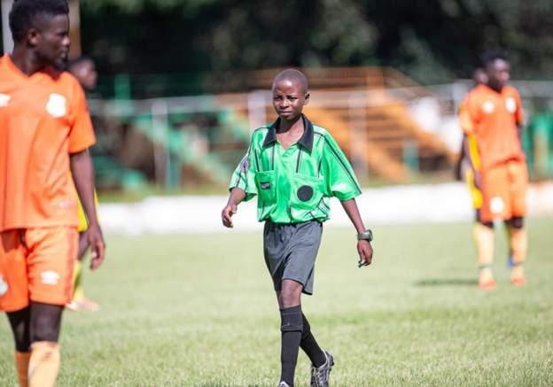 Teenage Referee Blows Zambia Away