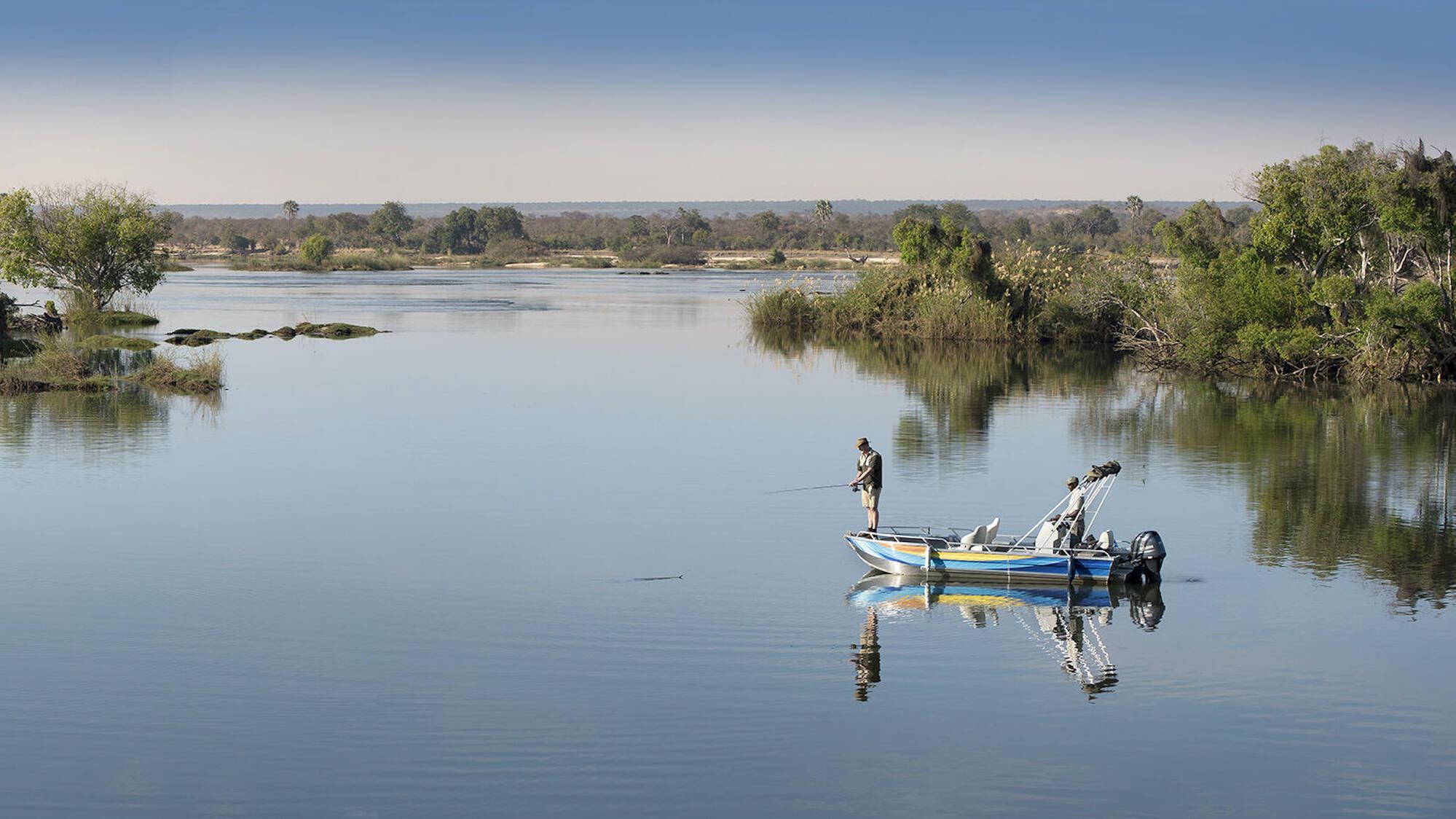 Border Jumper's Arm, Leg Missing After Boat Capsizes Along The Zambezi