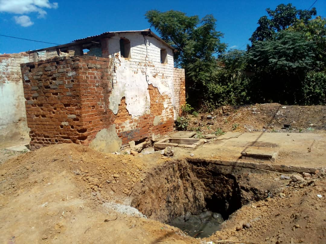 5 000 Mhangura Residents Share 7 Toilets